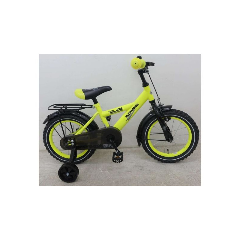 759b43ad734 Poiste jalgratas Thombike Neon kollane 14 tolli Volare - Lasterattad ...