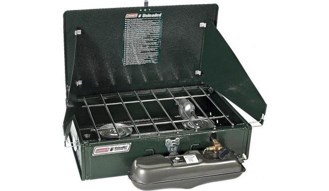 Coleman 2-flame cooker Unleaded, gasoline