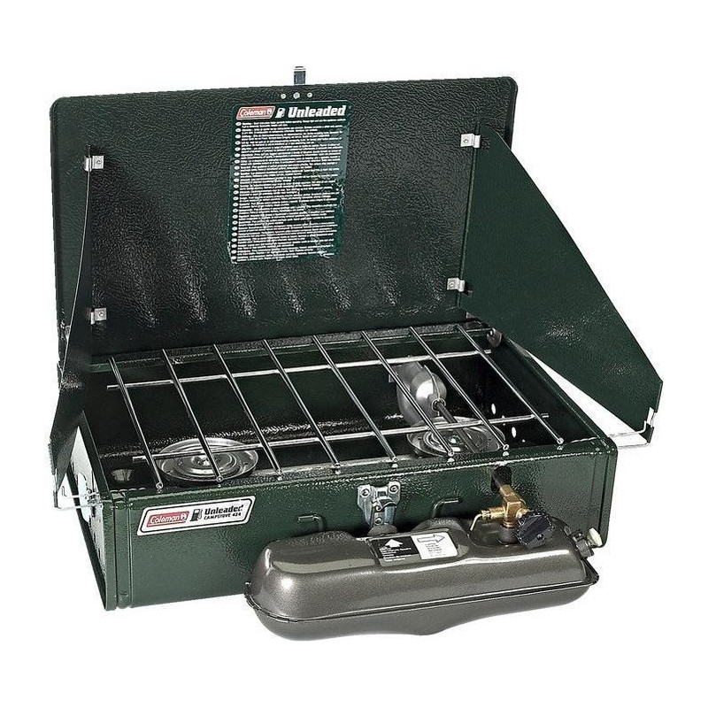 Coleman 2-flame cooker Unleaded, gasoline