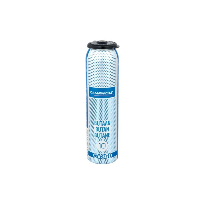 Campingaz valve gas cartridge CV 360 - silver / blue - butane gas