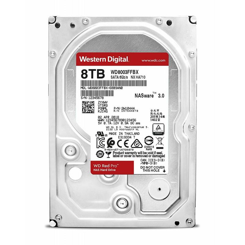 "Western Digital kõvaketas Red Pro 8TB SATA 3.5"""