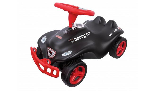 BIG pealeistutav auto Bobby Car, must/punane
