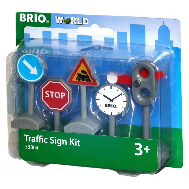BRIO Road Signs-Set - 33864