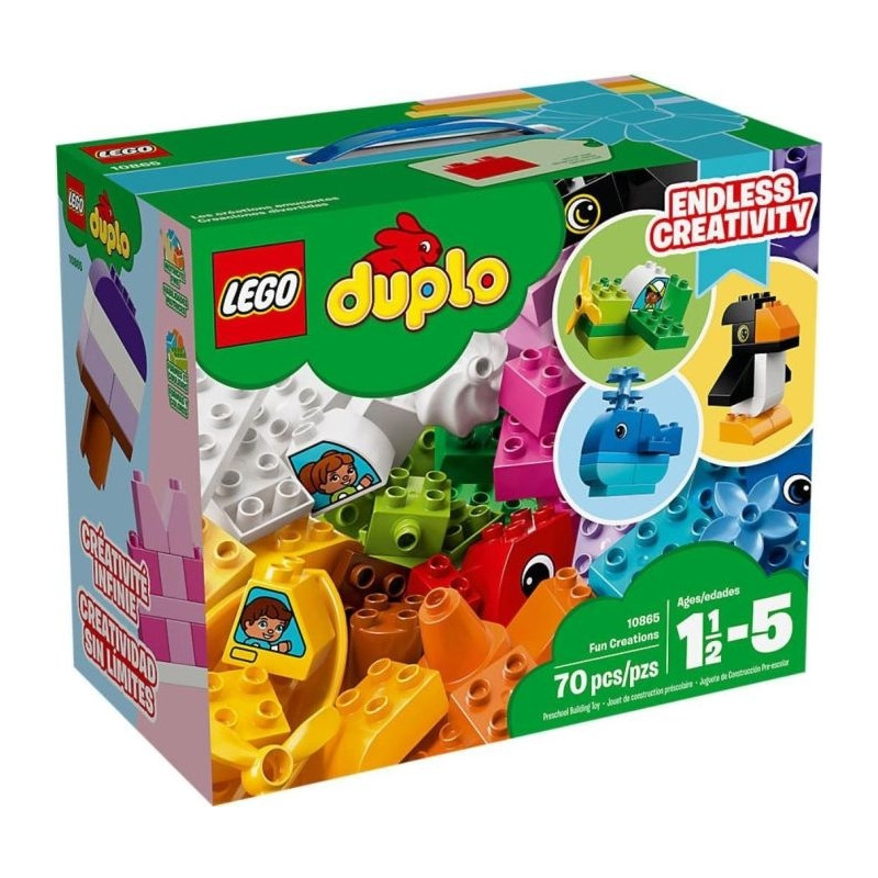 LEGO DUPLO mänguklotsid Fun Creations (10865)