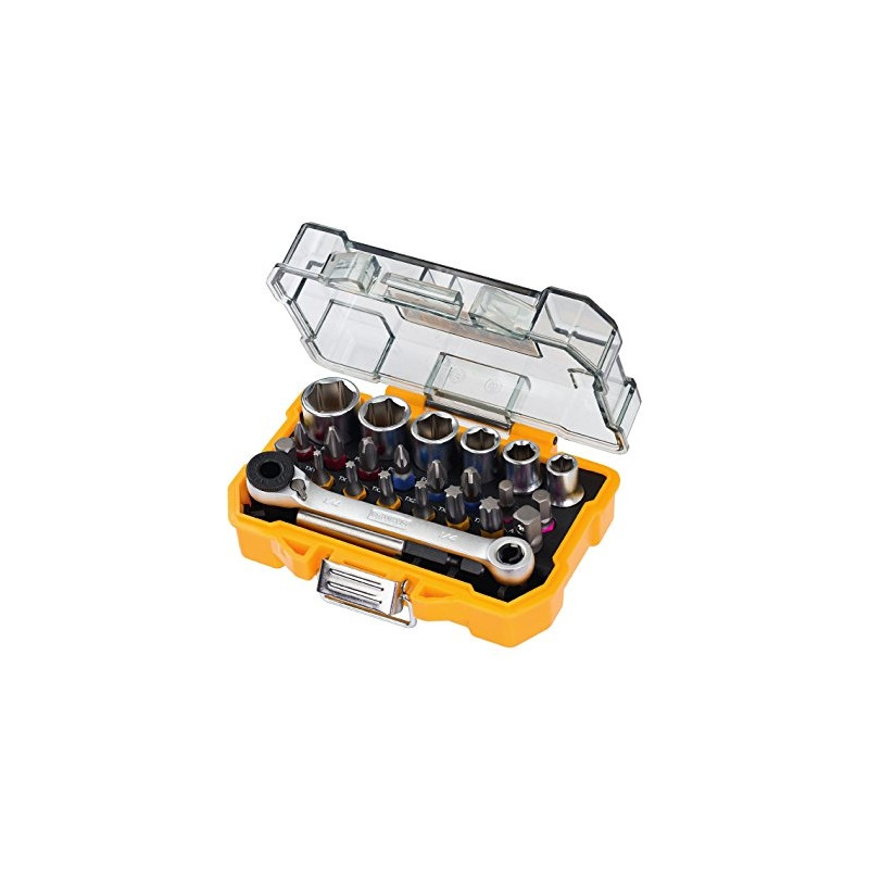 DeWalt DT71516-QZ 24 Piece High Performance Socket and Screwdriving set - DT71516