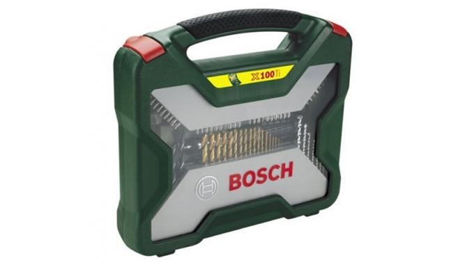 Bosch Titanium X-Line Tool Set 100 parts