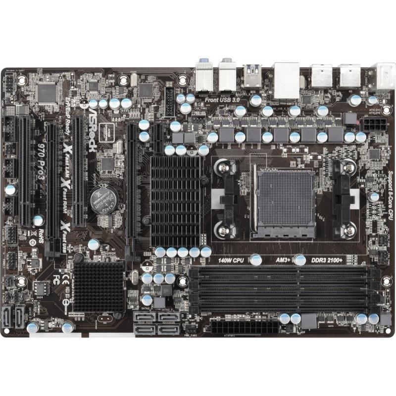 ASRock emaplaat 970 Pro3 R2.0 970
