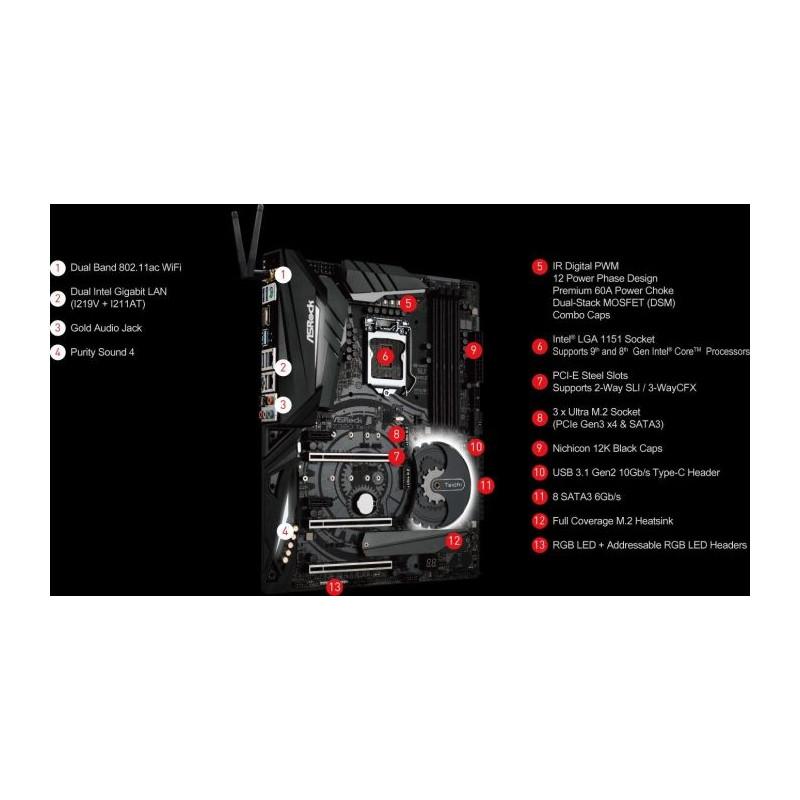ASRock Z390 TAICHI - 1151