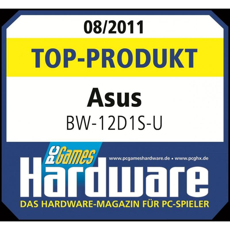 Asus external DVD drive BW-12D1S-U 12x USB 3.0, black