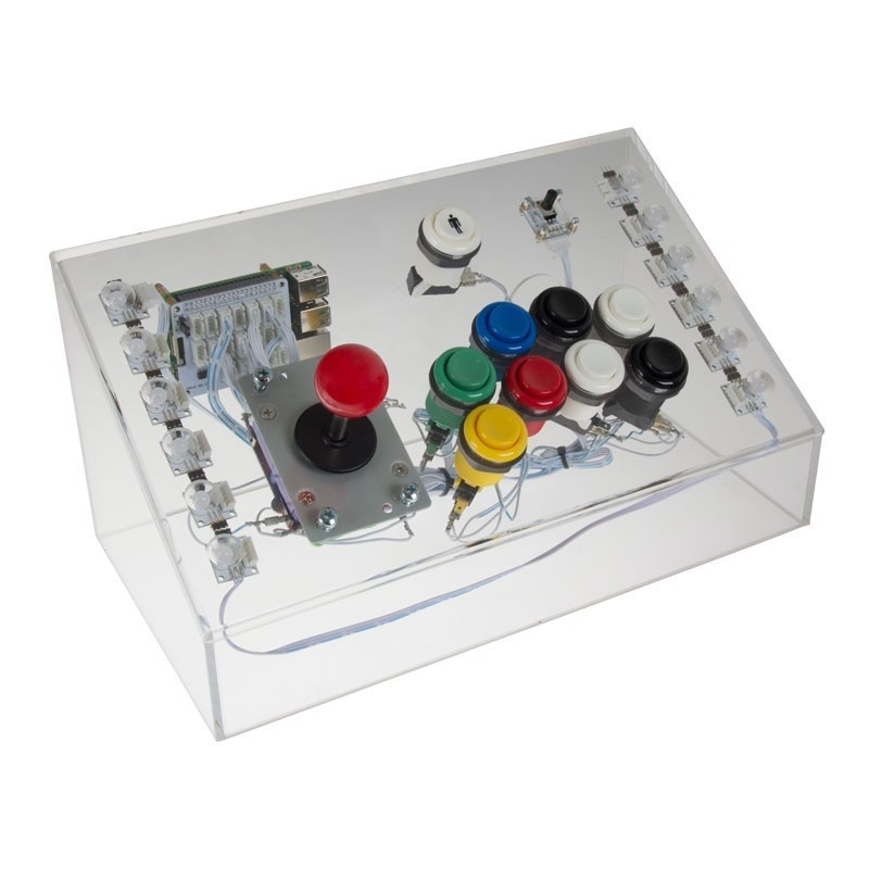 Joy-IT Arcade Gamestation for Raspberry Pi