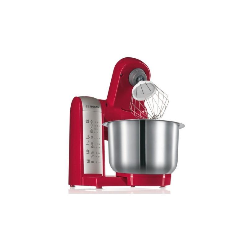 Bosch food processor MUM 48R1 600W, red
