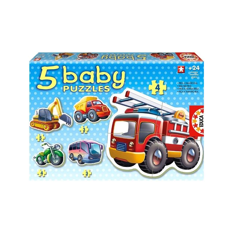 Educa beebipusle Sõidukid 4in1