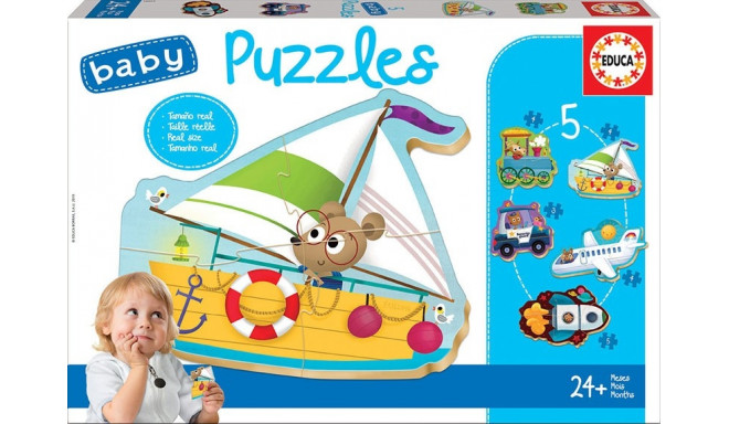 Baby Puzzles Vehicles 2