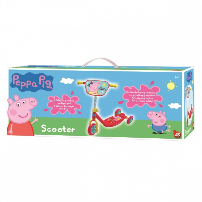 Scooter 3-wheels Peppa Pig