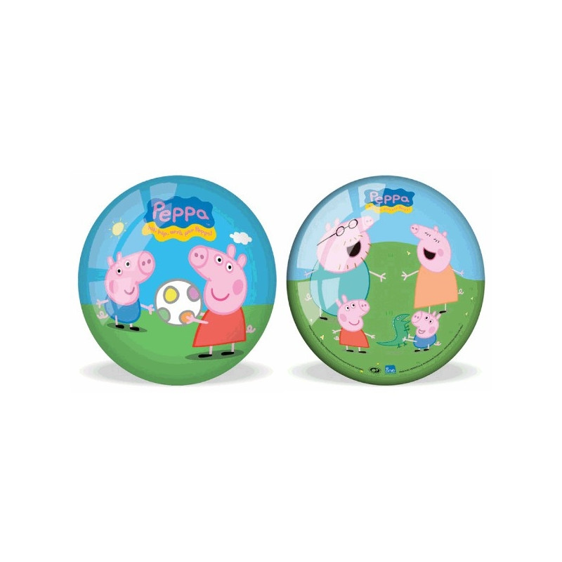 Rubber ball Peppa 23 cm
