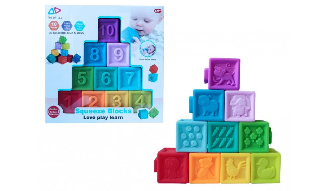 Blocks Soft 10 pcs