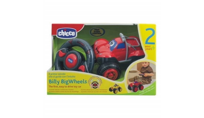 Billy red car