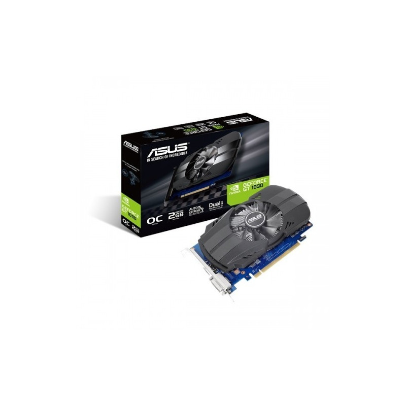 Karta graficzna GeForce GT 1030 OC 2GB GDDR5 64BIT HDMI/DVI
