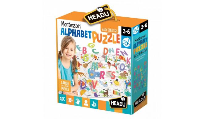Alphabet Puzzle HEADU