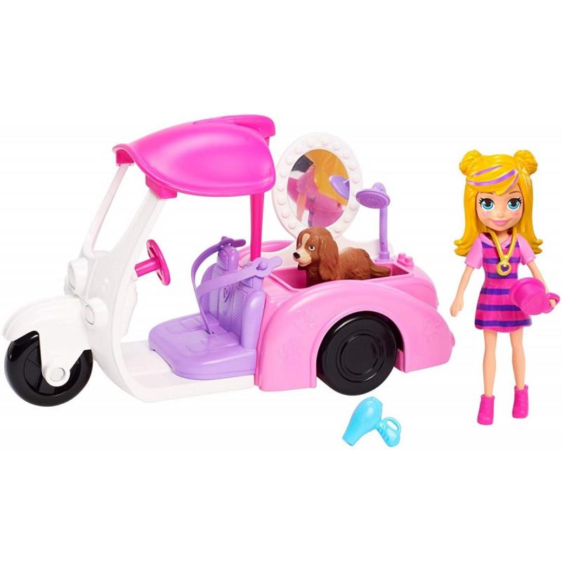 Figure + vehicle Polly Pocket GDM10