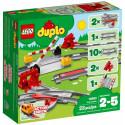 LEGO DUPLO mänguklotsid Rongirööpad