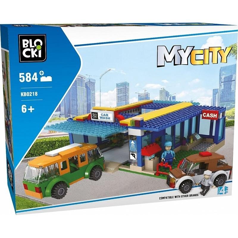 Blocks MyCity 133 pcs Car Wash