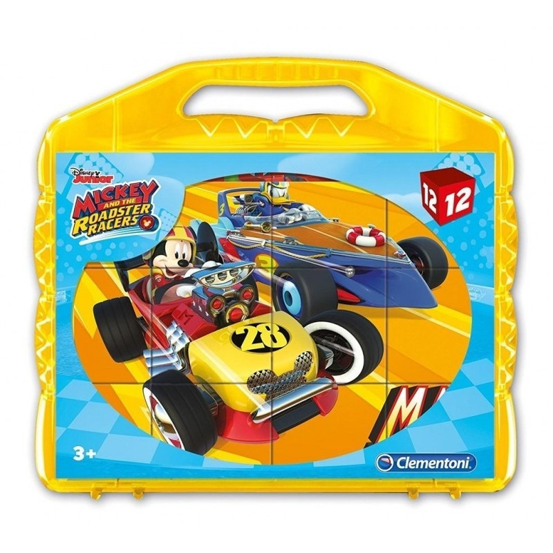 Blocks 12 elements Super Color Mickey and the Roadster
