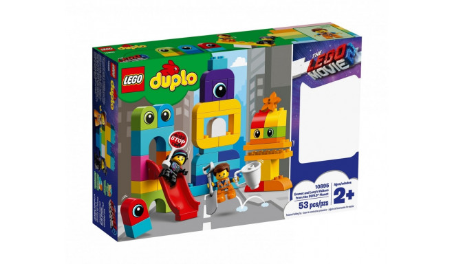 Blocks DUPLO Emmet and Lucys Visitors from the DUPLO Planet
