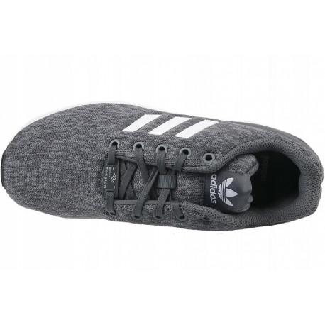 best website 51012 8ec79 Shoes sports Adidas ZX Flux J BY9833 (universal  38  gray color)