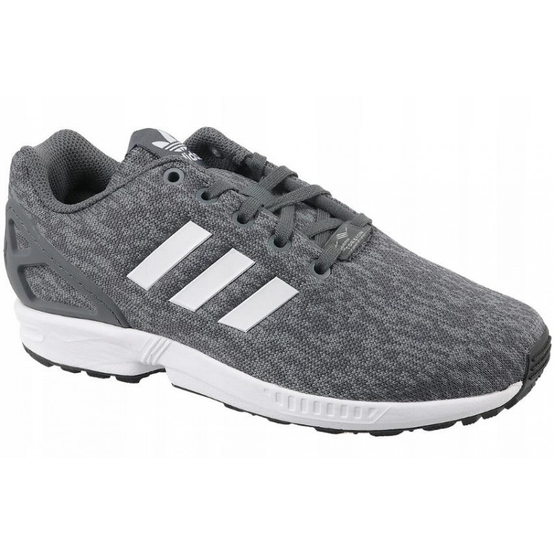 save off b66a6 019b8 Shoes sports Adidas ZX Flux J BY9833 (universal; 38; gray color)
