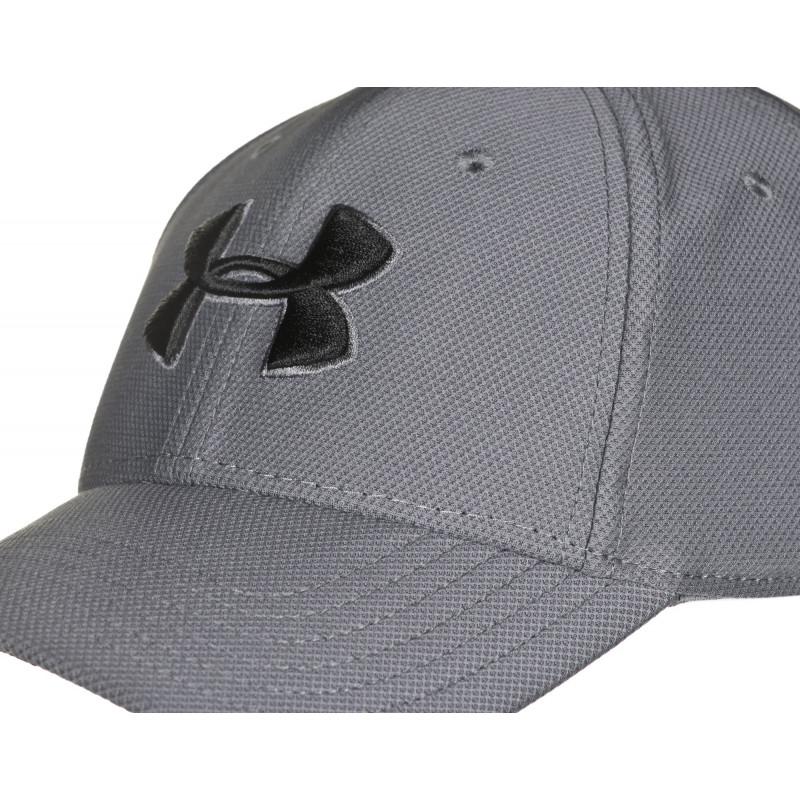 c08e8fa5e96b68 Cap with visor Under Armour Men's Blitzing 3.0 Cap 1305036-040 (men's; L