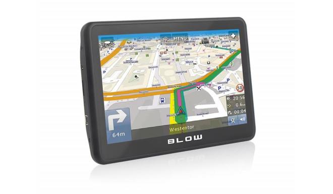Navigation system car BLOW 78-555# (MapFactor Free Full Europe (FEU))