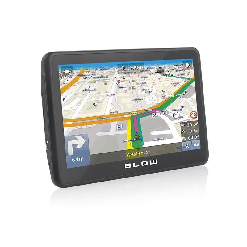 Car navigation BLOW 78-555# (MapFactor Free Full Europe (FEU))