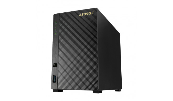 Asus Asustor Tower NAS AS1002T v2 up to 2 HDD
