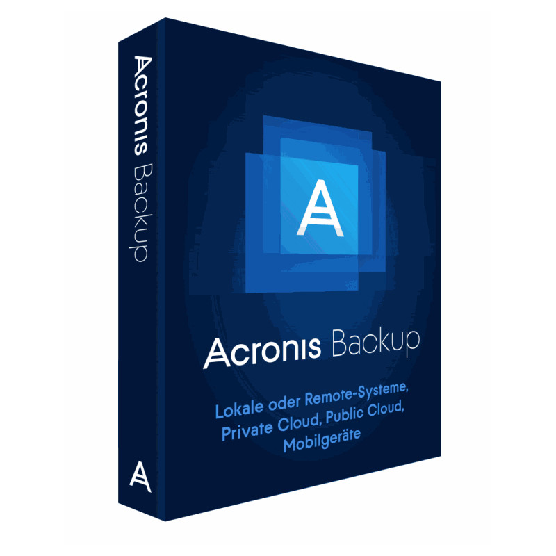 Acronis Backup 12.5 Advanced Virtual Host Lic