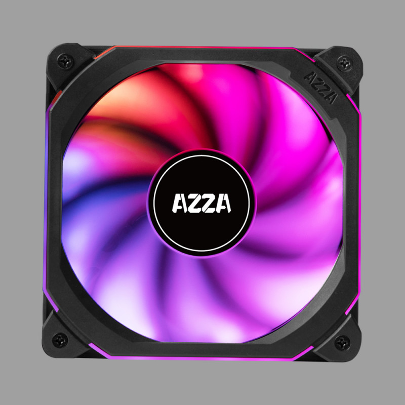 AZZA Prisma Digital RGB Square fan 120mm