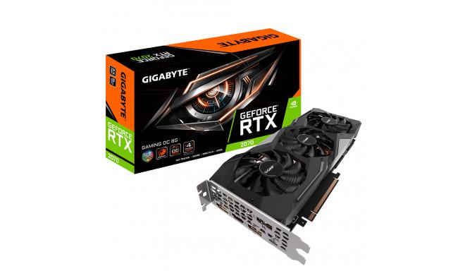 Gigabyte videokaart NVIDIA 8GB GeForce RTX 2070 GDDR