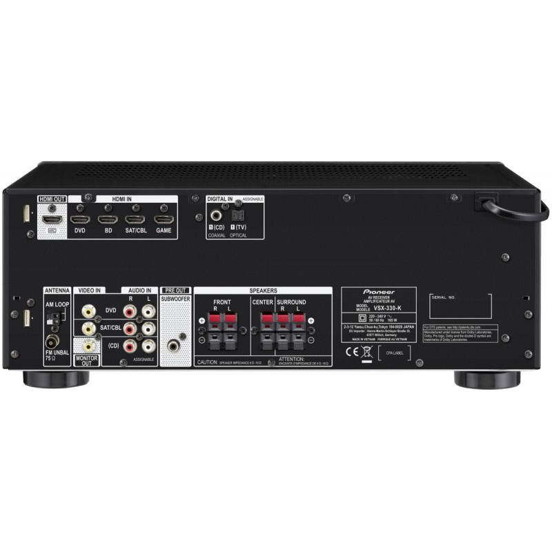 Pioneer VSX-330-K, black