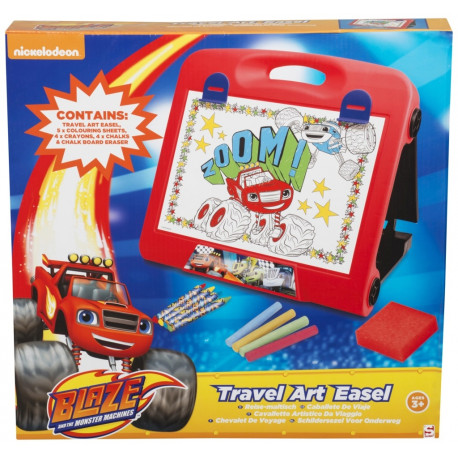 1d7737784f8 Blaze and The Monster Machines Travel Art Easel
