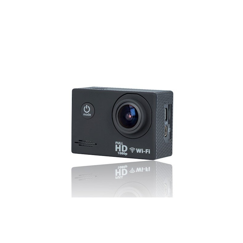 Forever SC-210 Plus (Full HD, 30 fps) Waterproof Sport Camera + Holder / Mounting / Wi-Fi Black