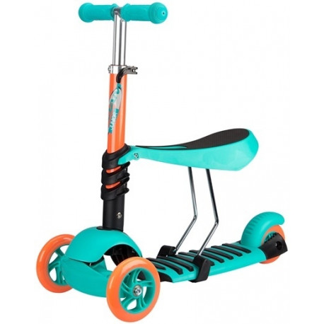 84a7800bbf5 Tõukeratas 3-Wheel Scooter MINI türkiissinine