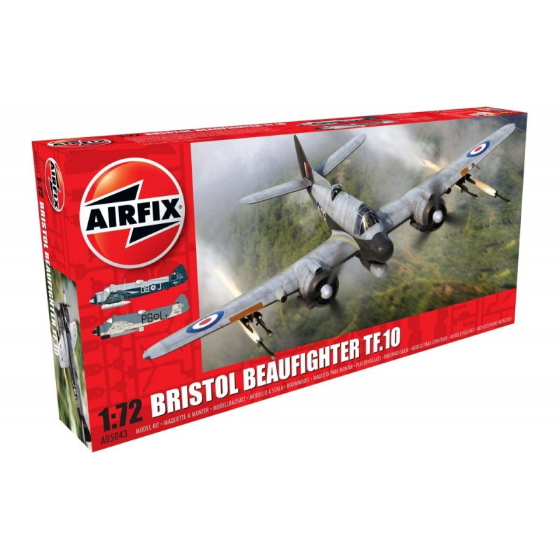Airfix mudelikomplekt Beaufighter Mk.X Late/TF.10