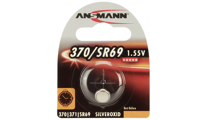 Ansmann patarei 370 371 Silveroxid SR69 10x1tk