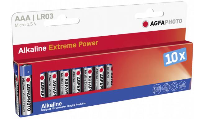 AgfaPhoto patarei Micro AAA LR03 10tk