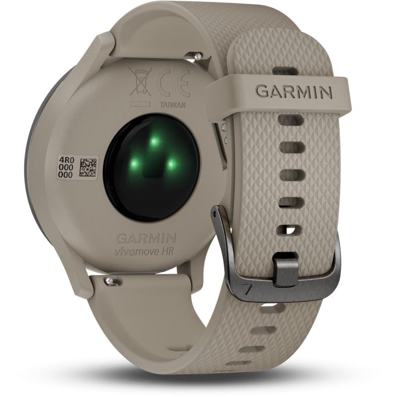 Garmin vivomove HR Sport black/sandstone