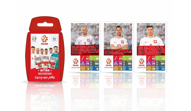 Cards game TOP TRUMPS National team of Poland PZPN