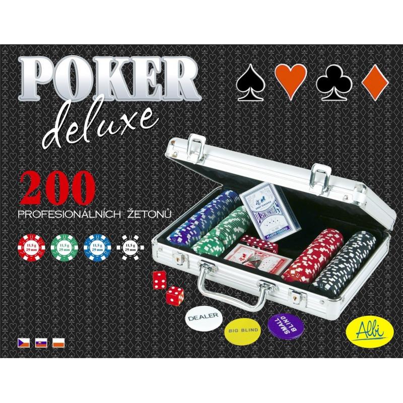 ALBI Poker Deluxe 200