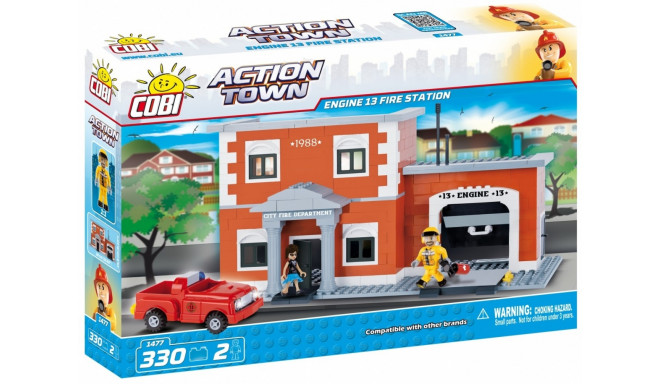 Action Town Remiz fire brigade