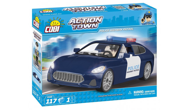 Blocks Action Town Police patrol