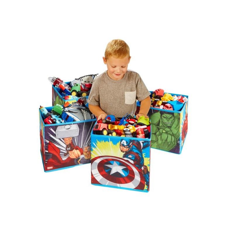 Avengers Kids Cube Toy Storage Bins